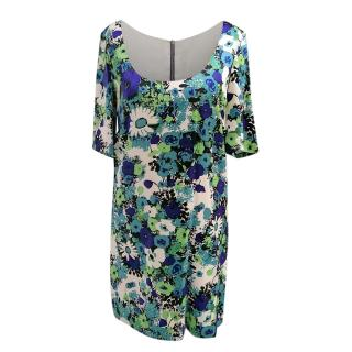 Rebecca Taylor Floral Print Shift Dress
