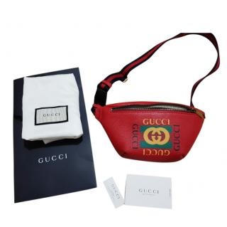 Gucci small red belt bag