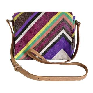 Etro Multicoloured PVC Multi-Print Satchel