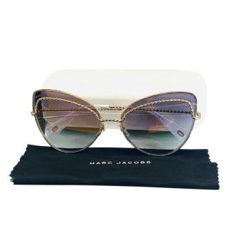 Marc Jacobs Rope Effect Cat-Eye Sunglasses
