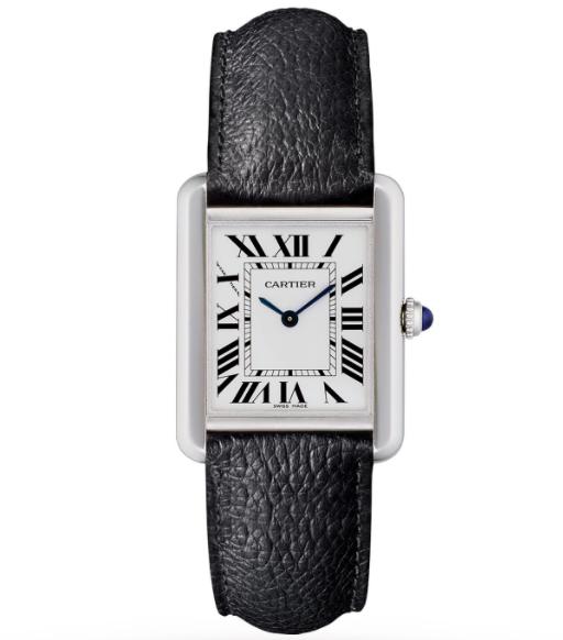 Cartier Tank Solo Small Steel Strap Watch