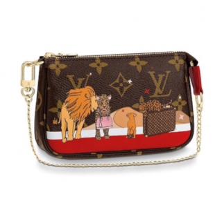Louis Vuitton Mini Pochette Accessoires - Monogram Mini Cats
