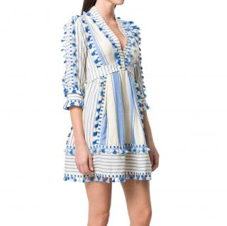 Dodo Bar Or Blue/White Skyler Mini Dress