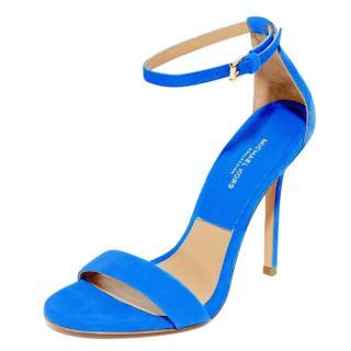 Michael Kors Blue Jacqueline Sandals
