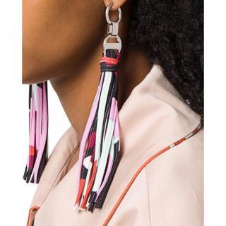 Emilio Pucci Multicoloured Tassel Drop Earrings