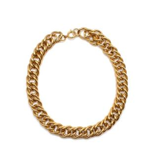 Bespoke Gold Tone Chunky Chain Link Necklace