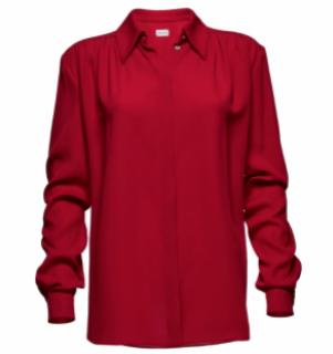 Magda Butrym Oversize Red Shirt
