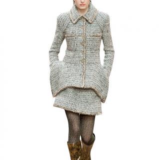 Chanel 2018 Cashmere, Wool & Alpaca Blend Tweed Runway jacket
