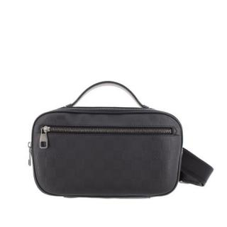 Louis Vuitton Damier Infini Black Ambler Crossbody Bag