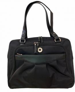 Balmain Black Classic Travel Shoulder Bag