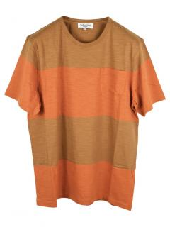 You Must Create Orange Striped T-Shirt