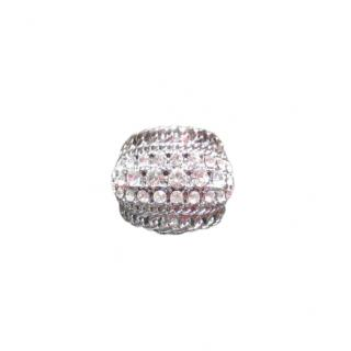 Dyrberg/Kern Crystal Gold Plated Ring