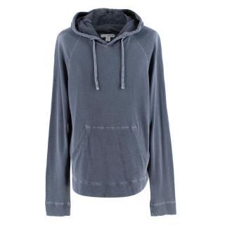 Standard James Perse Grey Cotton Hoodie
