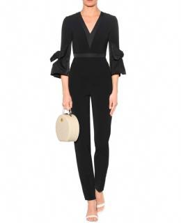 Roksanda Black Crepe Florent Jumpsuit