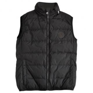 Gucci Black Quilted Nylon  Down Gilet