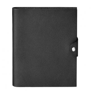 Hermes Black Togo Leather Ulysse MM notebook cover