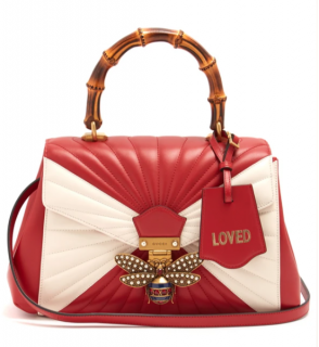 Gucci Queen Margaret bamboo-handle leather shoulder bag