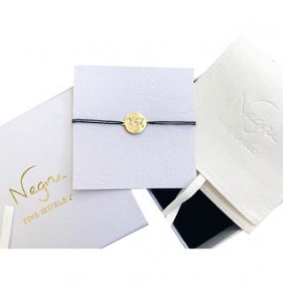 Negru Fine Jewellery 14xt Gold New World Corded Bracelet