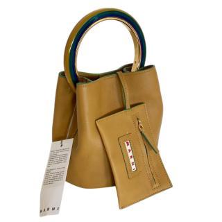 Pannier Leather Top Handle Pannier Bag