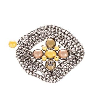 Chanel Embellished CC Chain Belt