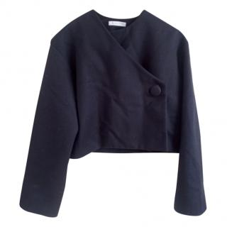 JW Anderson Navy Cropped Jacket