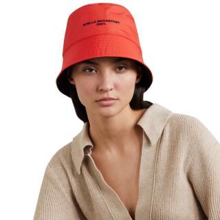 Stella McCartney Embroidered Reversible Nylon Bucket Hat