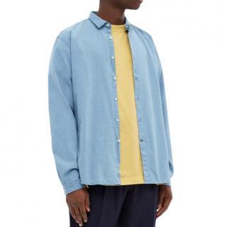 Oliver Spencer Light Indigo Clerkenwell Shirt