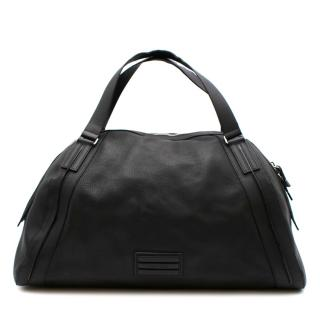 Dior Homme Black Leather Weekender