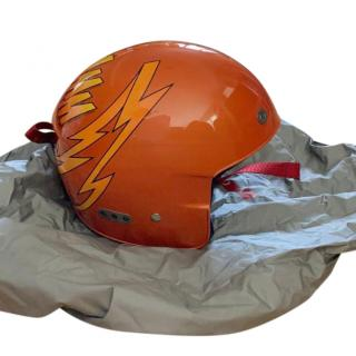 Prada Orange WHAMM Snowboard/Ski Helmet