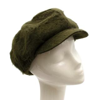 Muehlbauer for Connolly Green Wool Cap