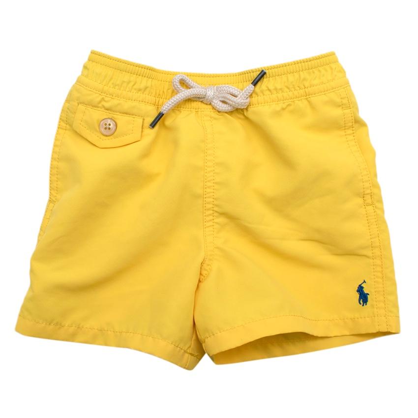 Polo Ralph Lauren Yellow Swim Shorts