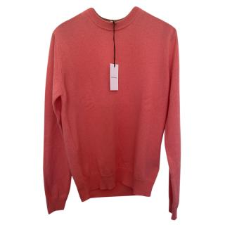 Paul Smith Womens Pink Cashmere Jumper