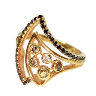 Annoushka Fancy Diamond Asymmetric Ring