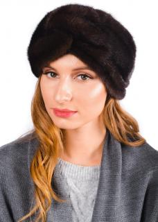 FurbySD Brown Mink Fur Headband
