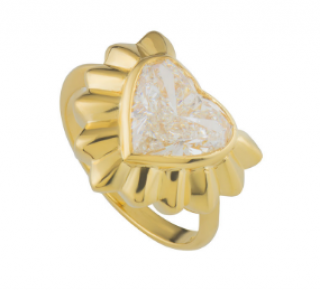 Garrard Diamond Yellow Gold Dress Ring