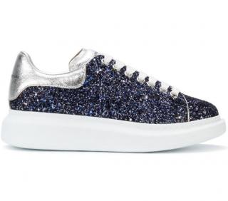 Alexander McQueen Oversized Glitter Sneakers