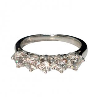 Myia Passiello 5-Stone Zirconia Ring