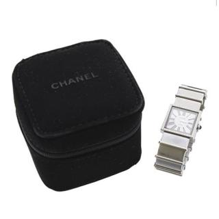 Chanel Mademoiselle Diamond Set Stainless Steel Ladies Watch