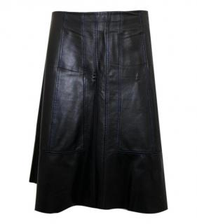 Proenza Schouler Lambskin Leather A-Line Skirt