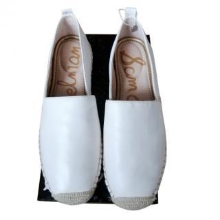Sam Edelman Leather Espadrilles