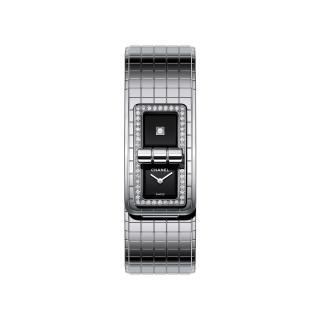 Chanel Code Coco Steel Diamond Set Bracelet Watch