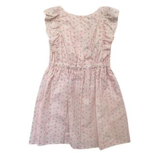 Lanvin Kid's 6Y Pink Floral Print Dress