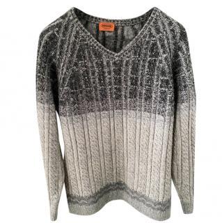 Missoni Monochrome Grey Wool Jumper