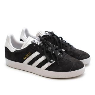Adidas Grey Suede Gazelle Trainers