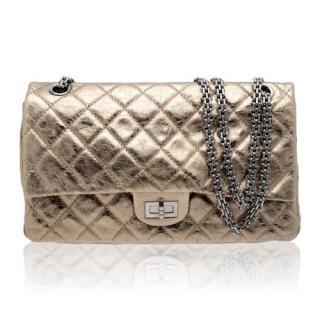 Chanel Metallic Bronze 2.55 Reissue 227 Bag