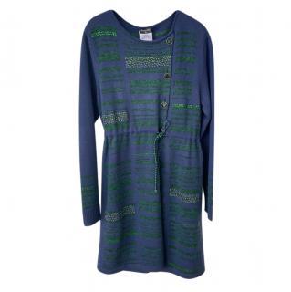 Strass Embellished Cashmere Cardi Coat