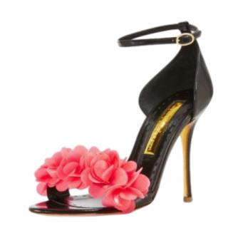 Rupert Sanderson Florinda Petal Ankle Strap Sandals