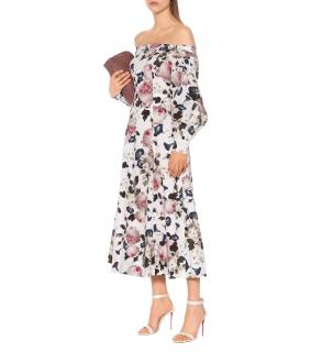 Erdem Pollina Floral Cotton-poplin Dress