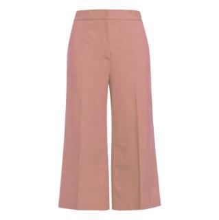 MSGM Pink Crop Culottes