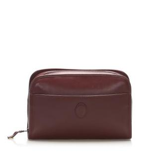 Cartier Bordeaux Must de Cartier Zip Pouch
